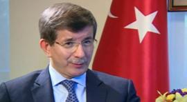Turkey's foreign minister, Ahmet Davutoglu