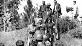 James Meredith enters University of Mississippi in 1962