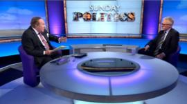 Andrew Neil and Norman Lamb