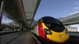 Virgin currently runs trains on the West Coast main line