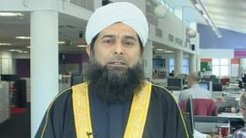 Shaykh Ibrahim Mogra of the Muslim Council of Britain
