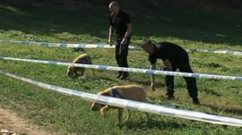 Police search ground in Kos