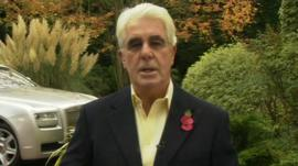 PR consultant Max Clifford