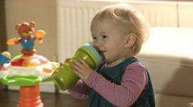 Child drinking