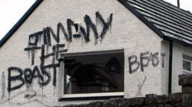 Jimmy Savile's former home in Glencoe