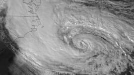 Hurricane - courtesy Nasa GOES Project