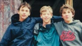 Jacob Vogelman and his brothers