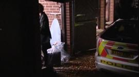 Police search Freddie Starr's home