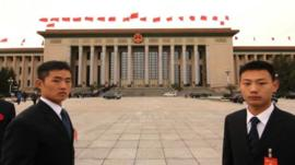 The transition to a new leadership will take place at the Great Hall of the People