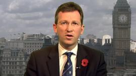 Prisons minister Jeremy Wright