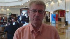 Jim Muir reports on Syrian National Council talks