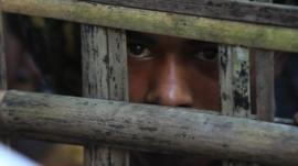 Burmese refugee