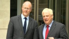 George Entwistle and Lord Patten