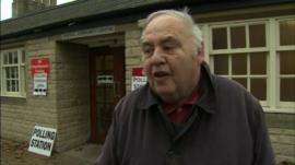Voter in Wiltshire