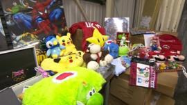 Fake goods seized in Southampton