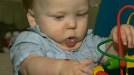 Baby Tomas Lewis