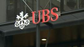UBS sign
