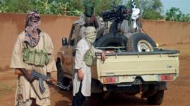 Islamist fighters in Kidal. August 2012