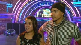 Strictly Come Dancing finalists Dani Harmer and Louis Smith