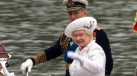 The Queen and the Duke of Edinburgh on her Diamond Jubilee