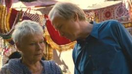 Scene from The Best Exotic Marigold Hotel
