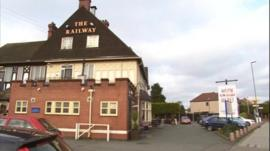 The Railway Hotel pub