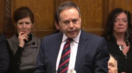 Nigel Dodds of DUP