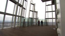The Shard's viewing platform