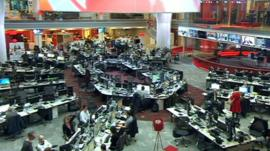 Inside the new BBC News headquarters