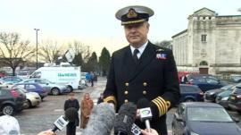 Captain Phil Buckley, Royal Navy