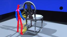 Possessing a chair