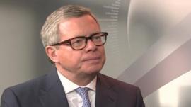Wolfgang Driese, chairman of DVB Bank