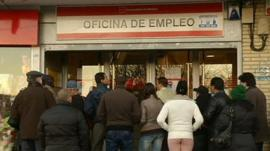 Job centre in Spain