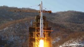 N Korea rocket Unha-3