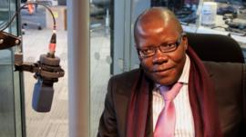 Zimbabwe's Finance Minister Tendai Biti Photo: Manuel Toledo, BBC Africa