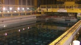 Nuclear waste at Sellafield