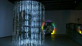 Installation at the Light Show