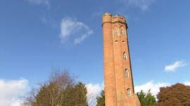 Perrott's Folly in Birmingham