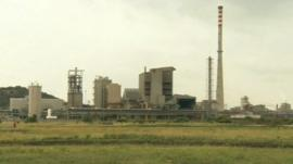 South African mining plant