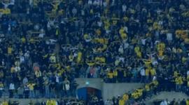 Beitar football fans