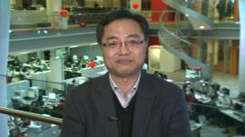Raymond Li, editor of the BBC's Chinese service