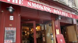 The Smoking Dog pub
