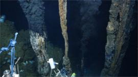Black smoker - deep sea vent