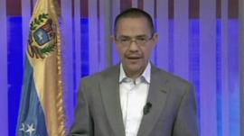 Ernesto Villegas, Venezuelan Minister of Information
