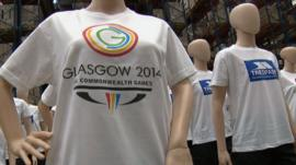 Trespass t-shirts for the Glasgow 2014 Commonwealth Games