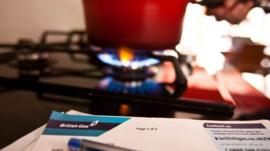 British Gas bill and hob