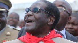 Robert Mugabe celebrates his birthday in Bindura
