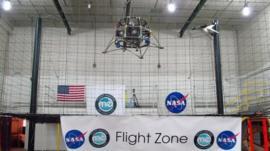 Moon Express prototype lander