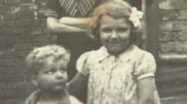 John Stubbs and Rose Burleigh as children