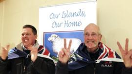 Falkland islanders